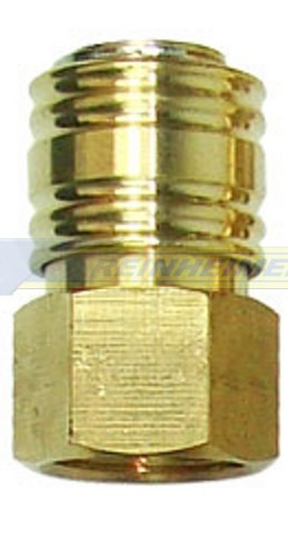 Einhandkupplung 1/2 I=18,6mm