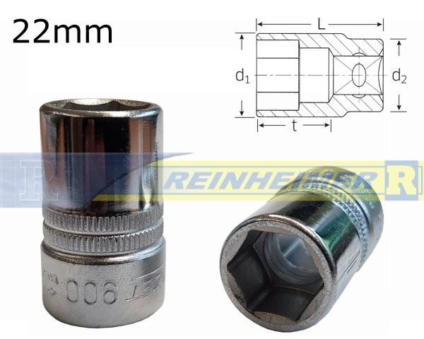 Steckschl.900-22K-1/2
