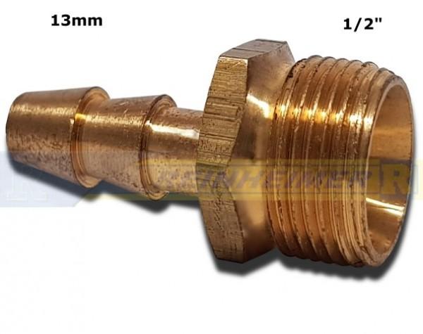 Schlauchtül.G1/2A=21mm, Tülle 13mm