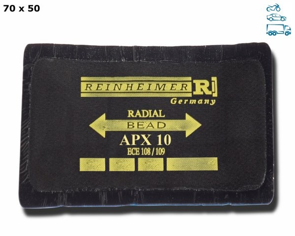 RP-APX 10HD/20 - RADIALPFLASTER