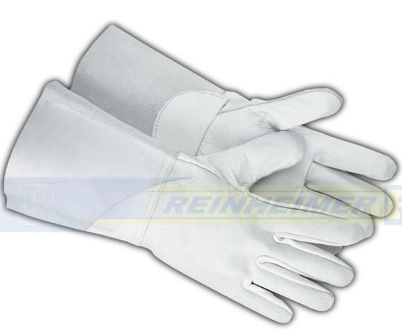 Fingerhandschuhe lang,Volleder