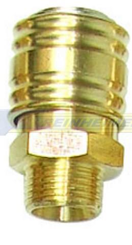 Einhandkupplung 3/8 A=16,7mm