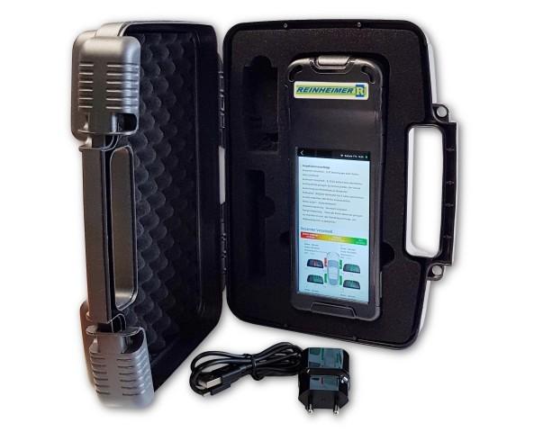 Smart-tire-tread-scanner