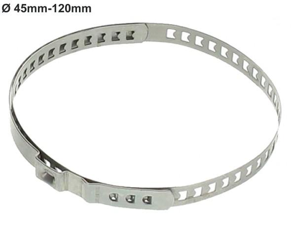 Clip-Hose-Clamp 45 bis 120mm/50