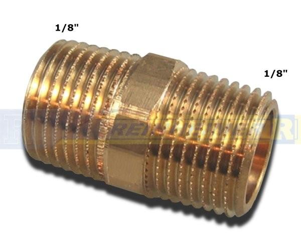 Do.-Nippel 1/8*1/8 MS(9,7mm)