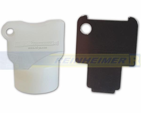 Pressure alarm flasher, Ersatzschlüssel