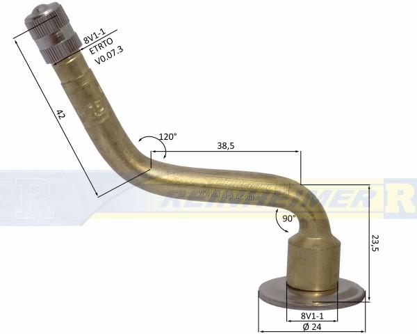 V3.04.15/2C/90-120/B42-C38,5 Schlauchventil