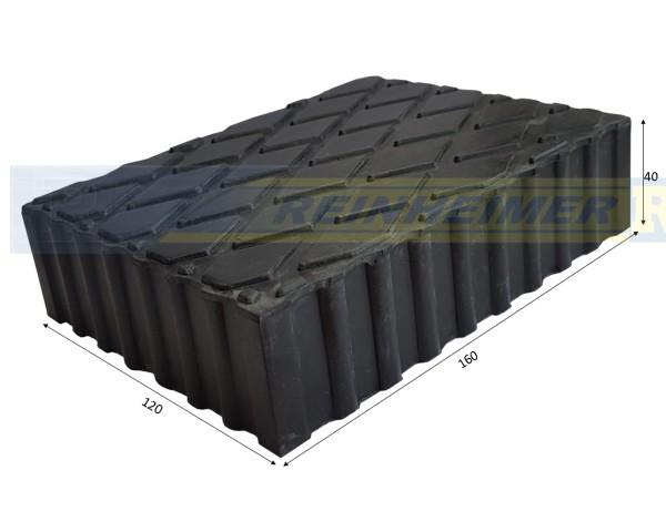 Gummiklotz 160*120 H40