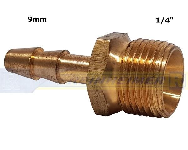 Schlauchtül.G1/4A=13,2mm, Tülle 9mm