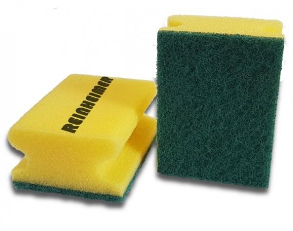 Pad-Schwamm gelb/grün