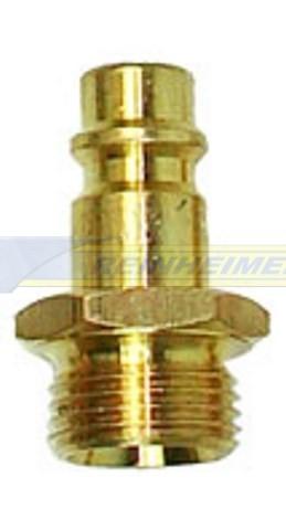 Stecknippel G3/8 A=16,7mm