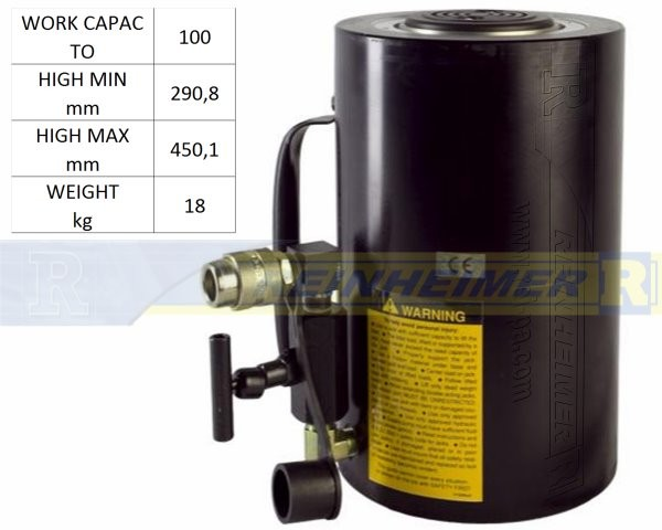 Hydr.-Cylinder 100-To/TS-29,8/HS-45,1
