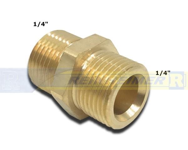 Do.-Nippel 1/4*1/4 MS(13,2mm)
