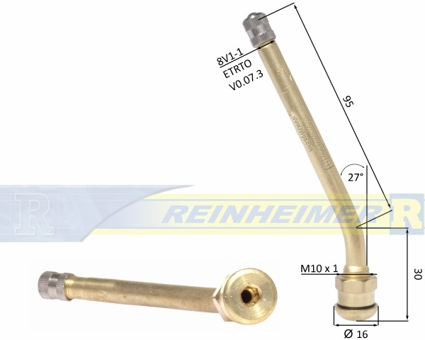 Vent-Steilschulter/27-9,7/125MS