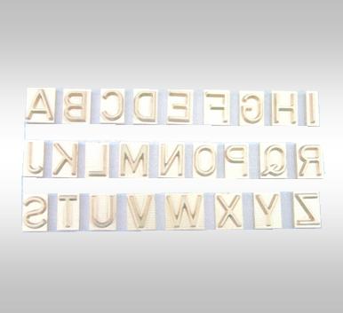 Type U für Brennstempel, SH12*SF15mm