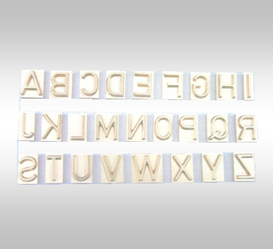 Type O für Brennstempel, SH12*SF15mm