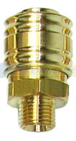 Einhandkupplung 1/4 A=13,2mm